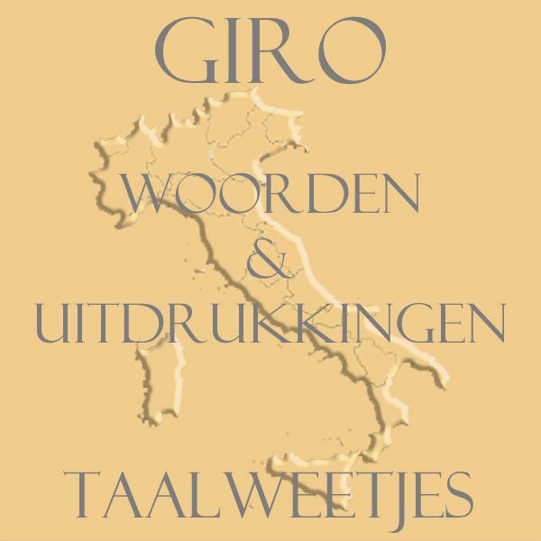 vijftig woorden en uitdrukkingen met het woord Giro