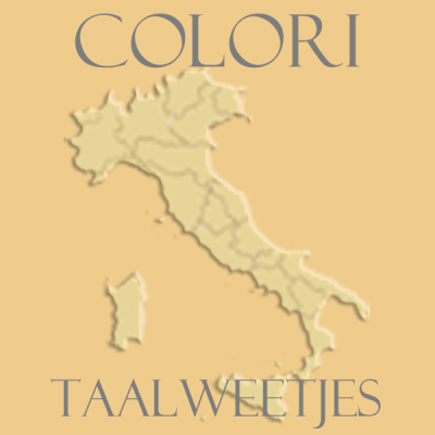 Kleuren - colori - Taalweetje