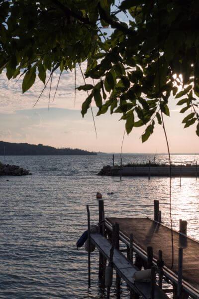 Lago Trasimeno - Trasimeno meer