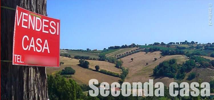 Tweede huis in Italie kopen