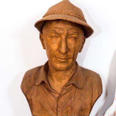 Op bezoek bij houtbeeldhouwer Ivo Piazza