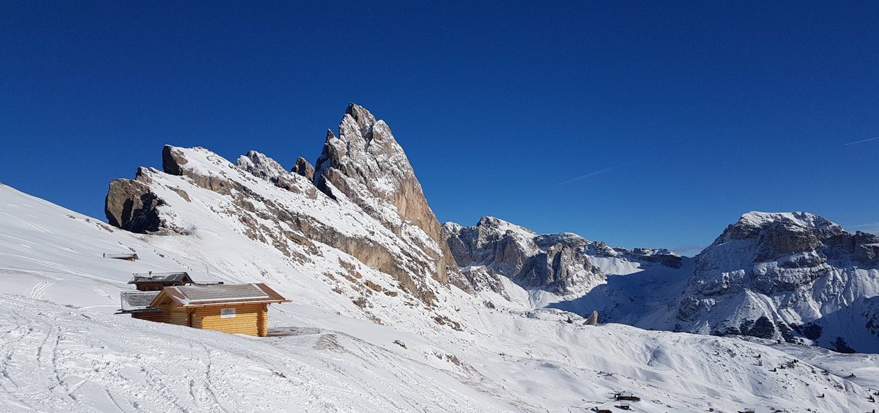 wintersport in val gardena