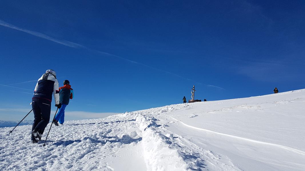 wintersport in val gardena
