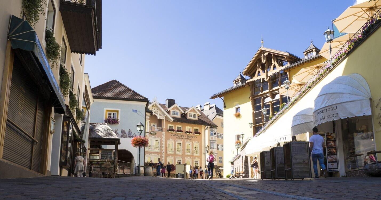 Straatbeeld Ortisei