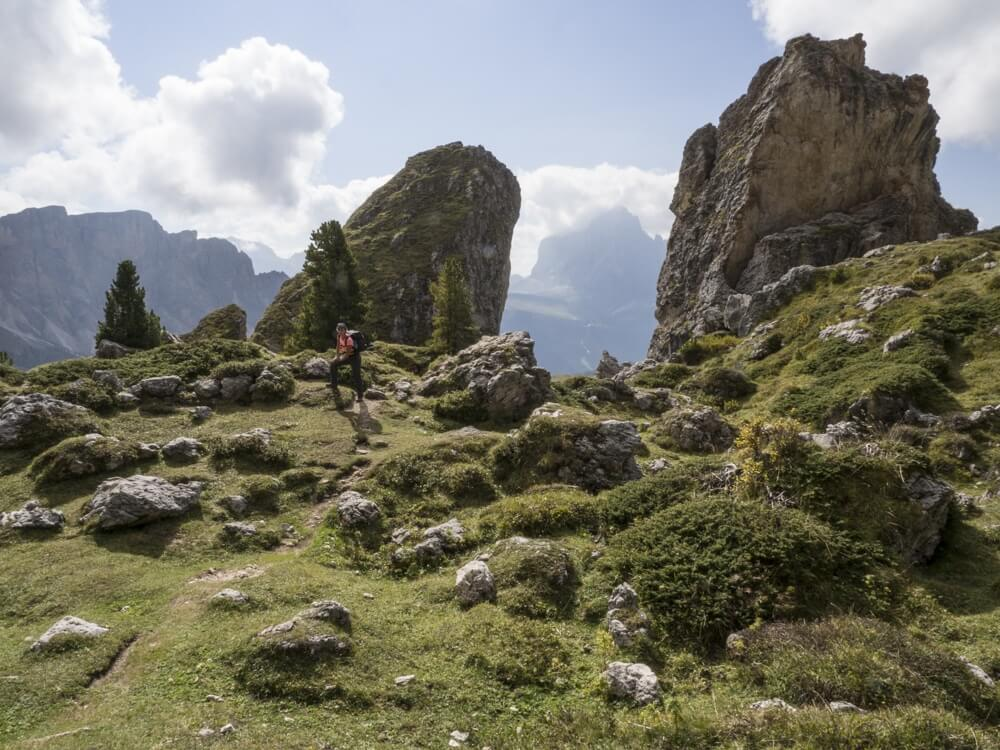 wandelen in Val Gardena © Claudia Zanin