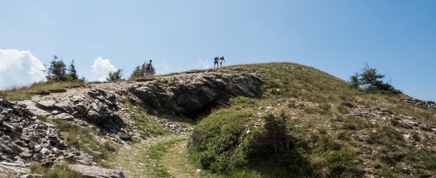 Wandelen op Monte Panarotta © Claudia Zanin