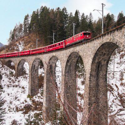 Trenino Rosso, Rhätische Bahn, Bernina Express