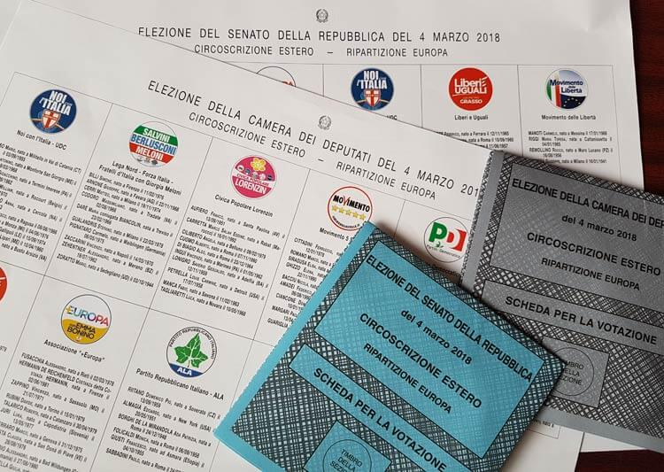 Verkiezingen in Italie 2018