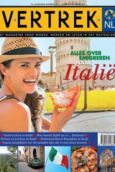 Italiespecial van het magazine VertrekNL
