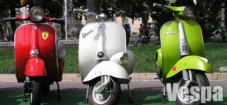 Italiaanse scooter Vespa