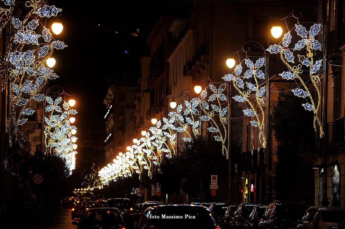 Luci d'artista Via Roma - Salerno