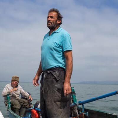 Op pad met vissers op het Trasimeno meer