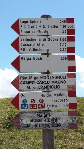 Wandelen in Trentino © Claudia Zanin
