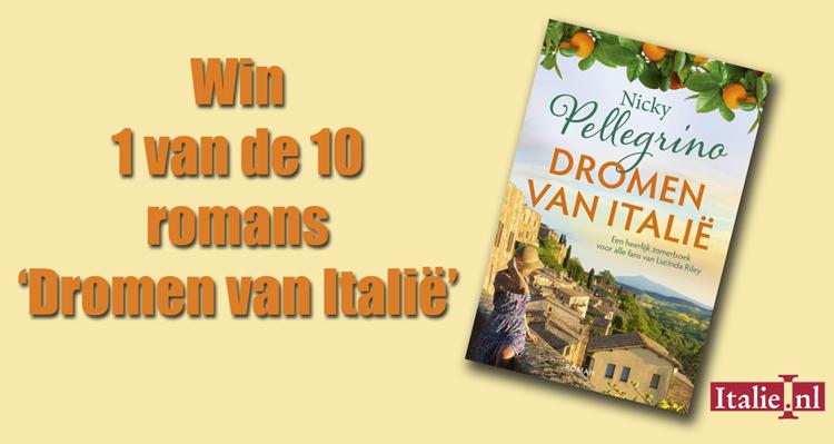 Win: Dromen van Italië van Nicky Pellegrino