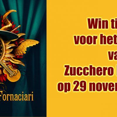 Concert Zucchero in Amsterdam, 29 november 2020