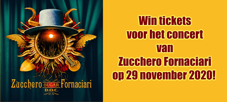 Win concerttickets voor Zucchero Fornaciari