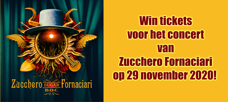 Win tickets voor Zucchero Fornaciari