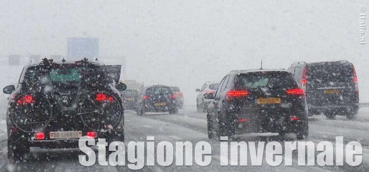 Op wintersport naar Italie in de sneeuw met de auto